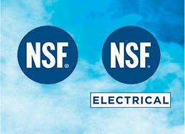 NSF Certification / UL Approval